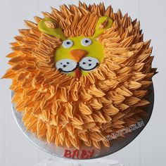 Lion theme birthday cake to make your kid's birthday special and graceful. Order online and get flat 10% off.   #lioncake #birthdaycake #kidsbirthdaycake #cartooncake Lion Birthday, Birthday Cake, Cartoon Cakes, Lion Cakes, Cake Delivery, Cake Online, How To Make Cake, Birthday Ideas, Party Ideas