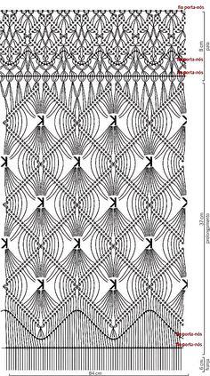 Blusa de Macramé - Receita, Gráfico e Passo a Passo | Tricô + Crochê