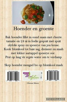 Clean Eating Recipes, Diet Recipes, Recipies, Healthy Recipes, Diet Meals, 28 Dae Dieet, Slender Wonder, Dieet Plan, Kos