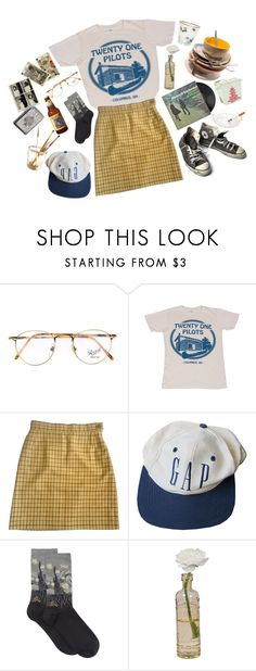 """Here's to Forgetting to Care"" by ocenia ❤ liked on Polyvore featuring Persol, Twenty, Vivienne Westwood, Converse, Branca, HOT SOX, Cultural Intrigue, Zippo and Tiffany & Co."