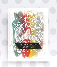 Christmas Cards | Card Making | DIY Cards | Scrapbooking | Paper Crafts | Creative Scrapbooker Magazine #cards #scrapbooking
