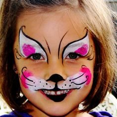 Get Cool Cat Face Paint Ideas Picture Wallpaper Idea is special for you to designing your home Paints Idea. It will be great to fulfill your Home Design Idea Cat Face Paint Easy, Kitty Face Paint, Kids Makeup, Cat Makeup, The Face, Face And Body, Super Cat, Face Painting Designs, Animal Faces