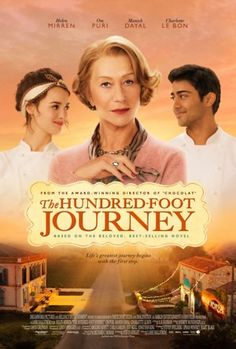 The hundred foot journey :) left feeling good