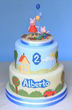 Peppa Pig cake - Cake by Cesare Corsini