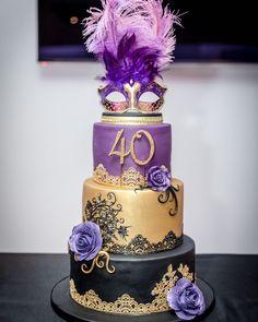 Fondant Cakes, Cupcake Cakes, Cupcakes, 40th Birthday Parties, Themed Parties, Birthday Cakes, Beautiful Cakes, Amazing Cakes, Button Cake