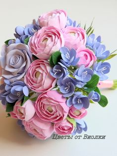 """Комплект для невесты и жениха """"Восхищение - 2"""" - сиреневый,цветы,цветы ручной работы"""