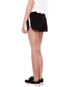SHORTS WITH MESH PANEL DETAIL - TEEN GIRLS COLLECTIONS - WOMAN - PULL Indonesia