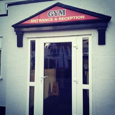 Armour Gym #leighonsea Leigh On Sea, Entrance, Armour, Gym, Entryway, Body Armor, Door Entry, Excercise, Gymnastics Room