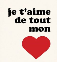 Valentine's Day Quotes : QUOTATION – Image : Quotes Of the day – Description je t'aime de tout mon cœur French print par nutmegaroo sur Etsy Sharing is Power – Don't forget to share this quote ! Love You Quotes For Him, Love Yourself Quotes, I Love You, My Love, Miss You, Long Distance Love Quotes, Good Quotes For Instagram, My Heart Quotes, Image Citation
