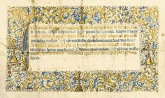 Marriage Certificate, in Latin, illuminated document on vellum [eastern France (Lyon), dated 1476] | Lot | Sotheby's