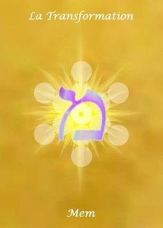 13- MEM   La Transformation, La force féconde et formatrice. Le changement incessant qui passe d'une forme à une autre. Le cycle Vie-mort. La nouvelle naissance, la Mère féconde. La préparation dans l'attente, l'épreuve d'un changement radical. La découverte d'un nouveau plan de conscience. La purification, la fertilité, le monde illusoire, la régénérescence.   Force cosmique : force d'inertie et de cohésion, féminine et restrictive.   Polarité : neutre   Elément : Eau   Dans le corps humain…