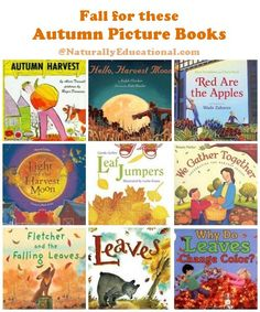 9 Picture Books to Get in the Fall Spirit | Naturally Educational #Fall #Autumn #KidLit
