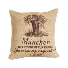 I pinned this Munchen Pillow from the Breezy Bedroom event at Joss and Main!