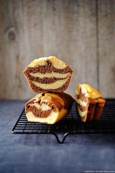 Cake marbré au chocolat - Qui a envie d'un gâteau marbré chocolat vanille ? Si vous avez des enfants, ce ne sont certainement pas eux qui diront non ! La recette classique est à tester pour le goûter.