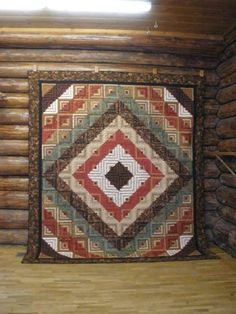 Log Cabin Quilts, Log Cabins, Man Quilt, Quilting Tools, Quilt Patterns,  Wood Cabins, Quilting Patterns, Quilts, Log Cabin Homes, Log Houses, Quilt  Block ... 9e7e1b96f007