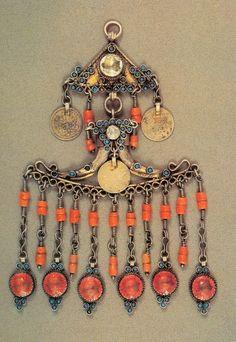 Vintage Kazakhstan pendant