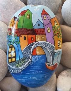 Decorative Rocks : (notitle) – how to make decorative hanging from bottle simple…peacock shaped diwali rangoli 10 piece diwali…decorative lantern vector dxf cdr for cnc vector… Rock Painting Patterns, Rock Painting Ideas Easy, Rock Painting Designs, Stone Art Painting, Pebble Painting, Pebble Art, Stone Crafts, Rock Crafts, Arts And Crafts