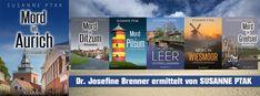 """#Reihentipp """"Mit Dr. Brenner durchs Jahr!"""" Serienjunkies aufgepasst: ob ein #Winterkrimi  oder ein #Sommerkrimi - die """"Dr. Josefine Brenner ermittelt-Reihe"""" von #SusannePtak hält für jeden Lesegeschmack etwas bereit.  http://amzn.to/2gEJLqA   #Ostfrieslandkrimi #Ostfriesland #Klarantverlag"""
