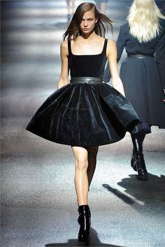 Karlie Kloss in Lanvin A/W 2012 RTW