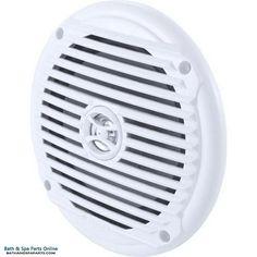 """ASA Electronics Jensen 6-1/2"""" 60 Watt Black Speaker (MS6007W)"""