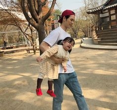Cute Asian Babies, Korean Babies, Asian Kids, Cute Babies, Couple Ulzzang, Ulzzang Kids, Korean Ulzzang, Father And Baby, Dad Baby
