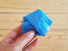 How to Organize Plastic Bags -Japanese Folding Method - TokyoLocals Fold Plastic Bags, Storing Plastic Bags, Pentagon Shape, Bag Organization, Clean House, Organize, Japanese, Folding Plastic Bags, Japanese Language