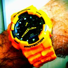 Casio G-shock. One of my favorite watches.