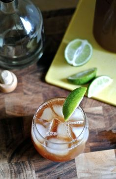 Iced Tea Margarita. Salt or sugar the rim and this will be a perfect summer time drink!