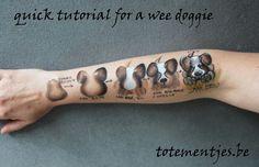 One stroke cheek art Easy Face Painting Designs, Face Painting Tips, Face Painting Tutorials, One Stroke Painting, Body Painting, Face Paintings, Dog Face Paints, Cheek Art, Face Paint Makeup