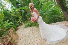 Wedding dress for a beach celebration #LasCaletas  #PuertoVallarta #BestDestinationWedding