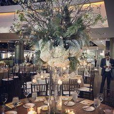 Rustic Holiday Centerpiece Holiday Centerpieces, Table Decorations, Rustic Garden Wedding, Wedding Coordinator, Blue Wedding, Fundraising, Dallas, Winter, Green
