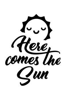 1.99 #here comes the sun cricut #Here Comes The Sun SVG Cut File #inspirational svg cricut #inspirational svg file #Motivational svg #positive svg #SVG Cut File #svg file cricut #SVG Quote #svg quote cameo Here Comes The Sun SVG Cut File Always Be Positive, Scan N Cut, Here Comes, Svg Files For Cricut, Svg Cuts, Cricut Design, Paper Cutting, Cutting Files, Surface