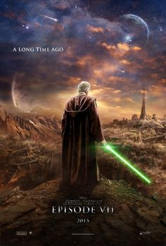 Fan made episode vii poster. The franchise that brought science-fiction to the general public: Star Wars Star Wars Poster, Film Star Wars, Star Wars Episoden, Fan Art, Marvel Avengers, Star Wars Episodio Vii, Space Opera, Fan Poster, The Old Republic