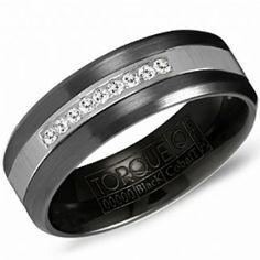 Crown Ring - Collections Alternative Metal Cobalt Black Cbb 2131