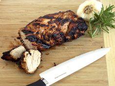 Mustard Marinaded Pork Tenderloin