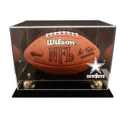 Dallas Cowboys NFL Deluxe Football Display Case