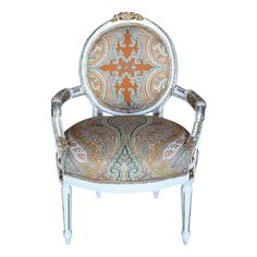 Viyet | Luxury Furniture Consignment - Seating - Antique Feuteil Armchair