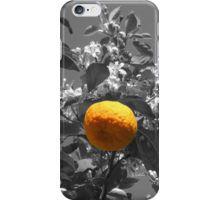 orange iPhone Case/Skin