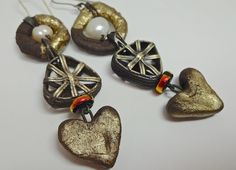 Hearts and pearls by pipnmolly on Etsy, $44.00