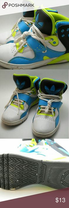 ADIDAS High Tops, Size 8.5 I wore these a handful of times. Adidas Shoes Sneakers