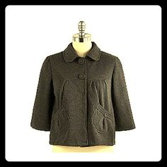 ☆SALE!! Oversized Button Fleece Jacket Be cozy and cute in this loose fit super soft fleece jacket with oversized buttons and pocket detail.  Three button closure.  Excellent Condition, like new! Miss LiLi Jackets & Coats