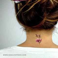 Lily Stargazer Temporary Tattoo By Lena Fedchenko (Set of – Small Tattoos Tiny Tattoos For Girls, Wrist Tattoos For Women, Small Tattoos, Cool Tattoos, Awesome Tattoos, Side Tattoos, Tattoo Women, Flower Wrist Tattoos, Flower Tattoo Designs