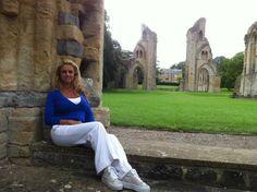 Glastonbury Abby isle of Avalon. King Arthur's grave in the background.   Twitter / GailThackray: Glastonbury Abby isle of Avalon. ...
