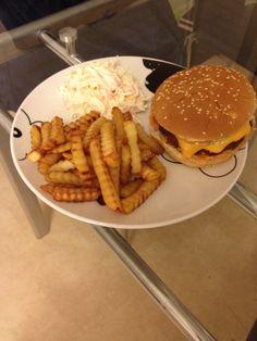 Homemade hamburger!!!
