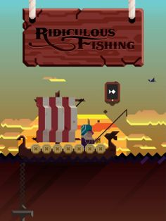 Ridiculous Fishing: A Tale Of Redemption - Release Trailer. A handcrafted game about fishing with guns, chainsaws & toasters.   Follow Billy...