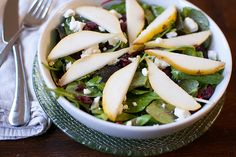 Fall Harvest Pear Salad
