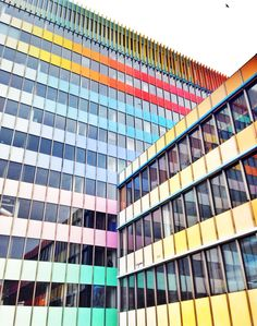 Buildings can be fun - #Colours in #Prague -  www.urbankristy.com
