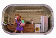 Miniature Sardine Can Dioramas Paint a Voyeuristic Picture of People in their Apartments | Inhabitat - Sustainable Design Innovation, Eco Architecture, Green Building