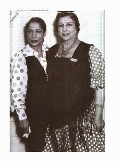Carmen Amaya y Pastora Imperio