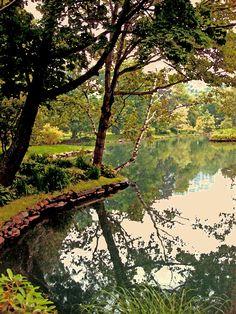 The most amazing Public Garden, located in Halifax Nova Scotia